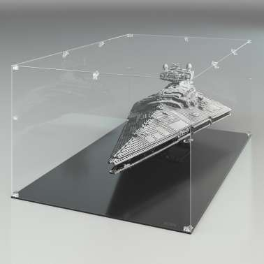 "Teca Arca in Plexiglas Trasparente - Imperial Star Destroyer ""Lego"""