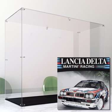 Display Case Arca For Lancia Delta Hachette