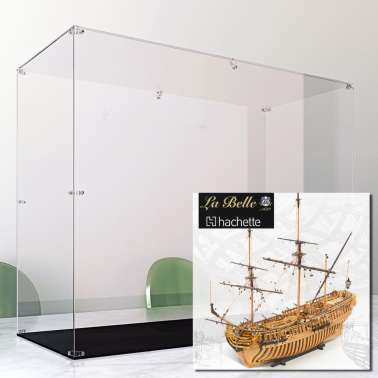 Display Case Arca For Vascello La Belle Hachette