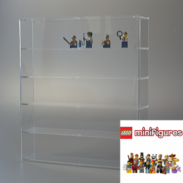 Baar Lego - wall display case for Minifigures