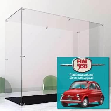 Display Case Arca For Fiat 500 Hachette